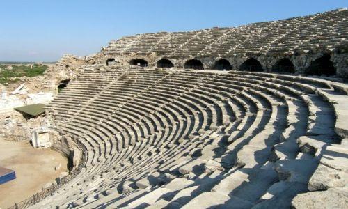 Zdjęcie TURCJA / Riwiera Turecka / Side / Teatr Rzymski