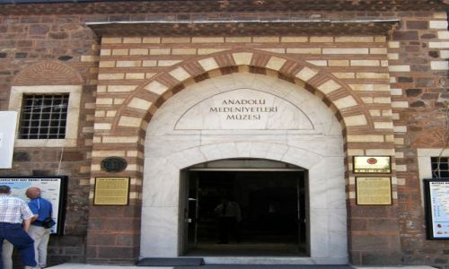 Zdjęcie TURCJA / - / Ankara / Muzeum Cywilizacji Anatolijskich