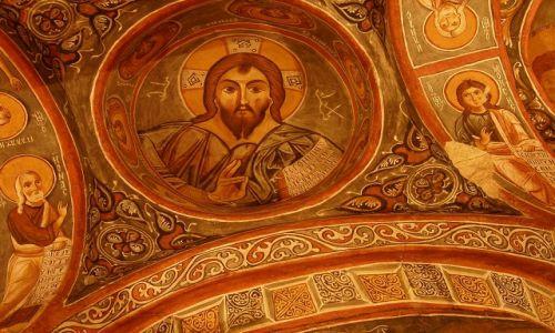 Zdjęcie TURCJA / Kapadocja / Dolina Goreme / W Ciemnym Kościele