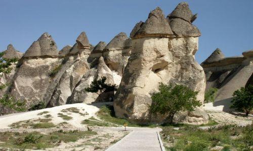 Zdjęcie TURCJA / - / Kapadocja / Formy skalne