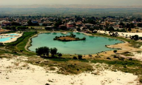 Zdjęcie TURCJA / Denizli / Pamukkale / Panoramka