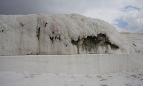 Zdjecie TURCJA / Dolina Curuksu / Pamukkale / To nie lód
