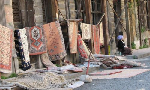 Zdjecie TURCJA / Istambuł / istambuł / czyżby Turcja słyneła z dywanów