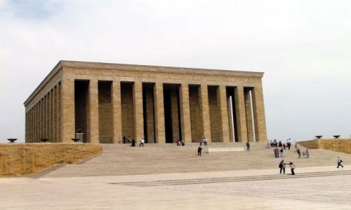 TURCJA / Anatolia / Ankara / Mauzoleum Ataturka