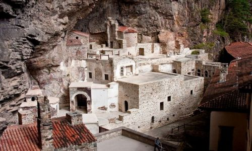 Zdjecie TURCJA / Turcja północno-wschodnia / okolice Trabzonu / Klasztor Sumela