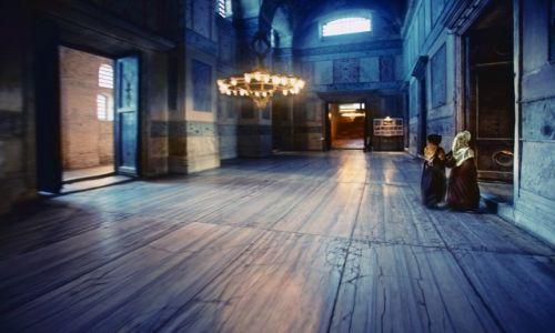 Zdjecie TURCJA / Stambul / Sultan Ahmed / Hagia Sophia