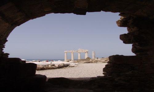 Zdjęcie TURCJA / Side / Side - ruiny świątyni Apollina / Świątynia Apollina - podglądanie starożytności