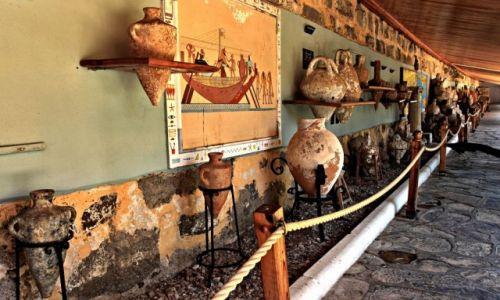Zdjęcie TURCJA / Azja mniejsza. / Bodrum / Muzeum Archeologiczne na zamku krzyżowców.