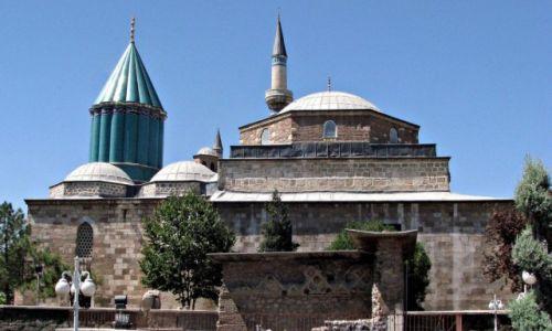 Zdjecie TURCJA / Wyżyna Anatolijska. / Konya / Meczet z muzeum Mevlany.
