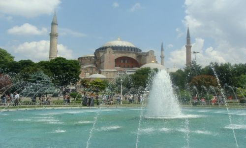 Zdjecie TURCJA / Marmara / Stambuł / Hagia Sophia