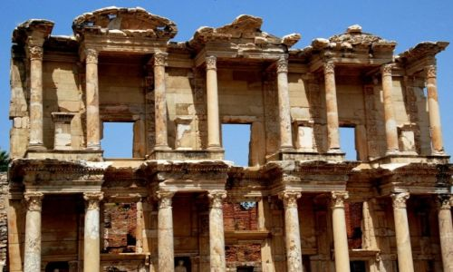 Zdjęcie TURCJA / efes / efes / ruiny zrujnowane