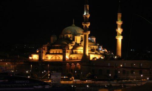 Zdjecie TURCJA / Istambuł / Istambuł / Błękitny Meczet przy pałacu Topkapi