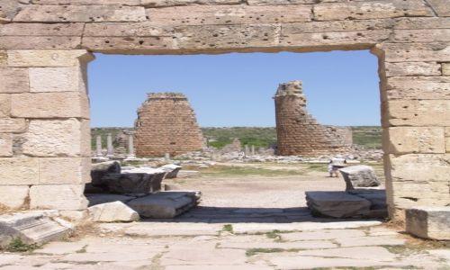 Zdjecie TURCJA / Riwiera Turecka / Perge / Brama do starożytności
