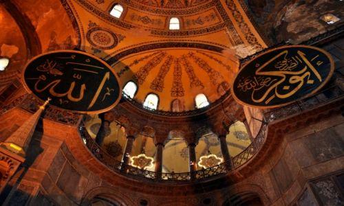 Zdjęcie TURCJA / Istambuł / Istambuł / Hagia Sophia (gr. Ἁγία Σοφία, tur. Ayasofya)
