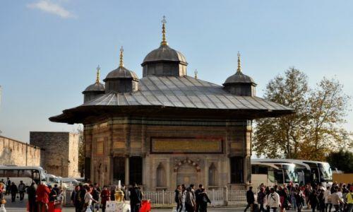 Zdjecie TURCJA / Istambuł / Istambuł / Istambuł - przed pałacem Topkapi-przed zwiedzaniem:)