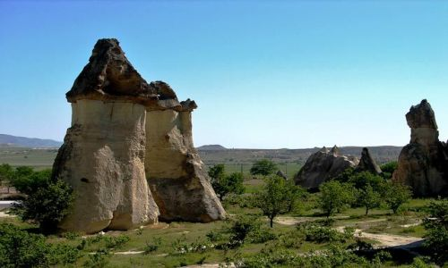 Zdjęcie TURCJA / Kapadocja - kraina historyczna w Anatolii w Azji Mniejszej  / Kapadocja / Na grzyby ;)
