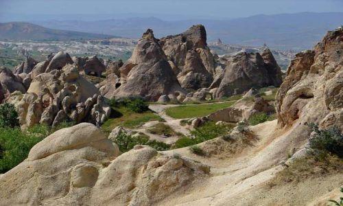 Zdjęcie TURCJA / Kapadocja - kraina historyczna w Anatolii w Azji Mniejszej  / Kapadocja / Kapadocja