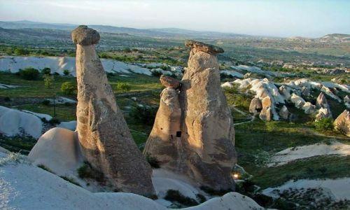 Zdjęcie TURCJA / Kapadocja - kraina historyczna w Anatolii w Azji Mniejszej  / Kapadocja / i jeszcze raz na grzybobranie
