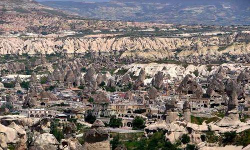 Zdjecie TURCJA / Kapadocja - kraina historyczna w Anatolii w Azji Mniejszej  / Kapadocja / Kapadocja3