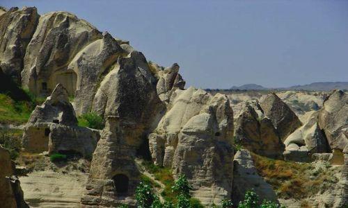 Zdjęcie TURCJA / Kapadocja - kraina historyczna w Anatolii w Azji Mniejszej  / Kapadocja / Kapadocja 4