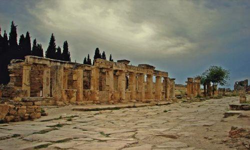 Zdjecie TURCJA / Hierapoils /  Hierapolis  / Hierapolis