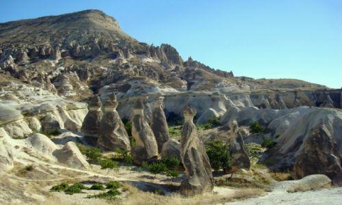 Zdjecie TURCJA / Anatolia / Kapadocja / Wędrowcy