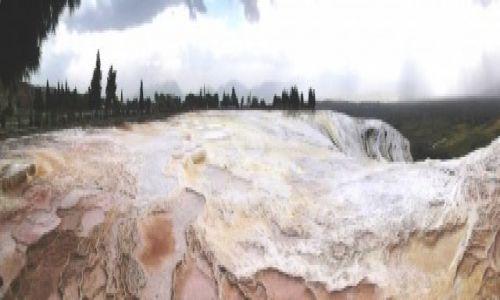 Zdjecie TURCJA / - / Pamukkale / Wapienne tarasy Pamukkale