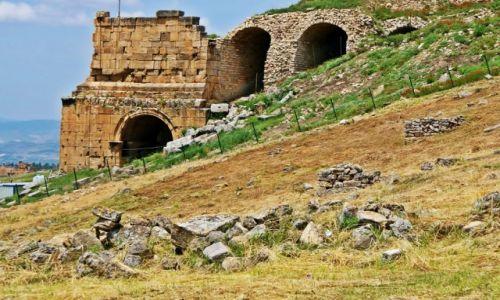 Zdjęcie TURCJA / - / SIDE / Ruiny teatru