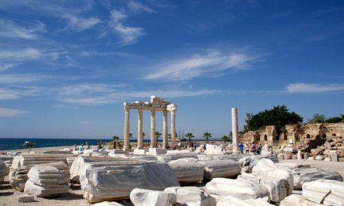 Zdjęcie TURCJA / Riwera Turecka / Side / Ruiny Świątyni Apolla