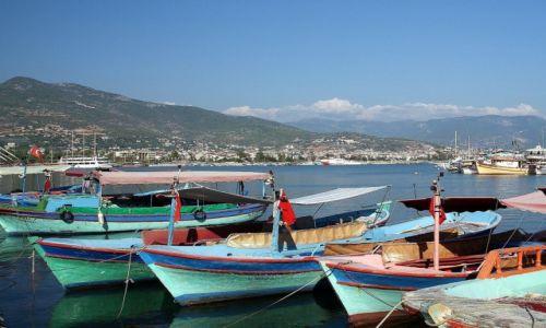 Zdjęcie TURCJA / Riwera Turecka / Alanya / Port
