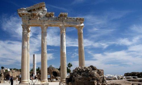 TURCJA / Riwera Turecka / Side / Świątynia Apolla