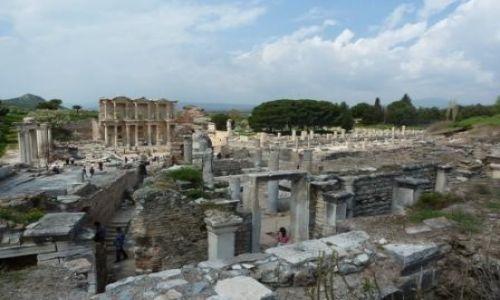 Zdjęcie TURCJA / Wybrzeże Morza Egejskiego / Efes / Efes - ruiny miasta