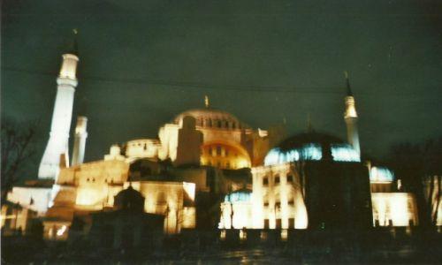 Zdjęcie TURCJA / Stolica / Stambuł / Hagia Sofia nieudana