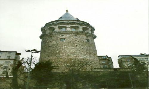 Zdjęcie TURCJA / Stolica / Stambuł / Wieża Galata