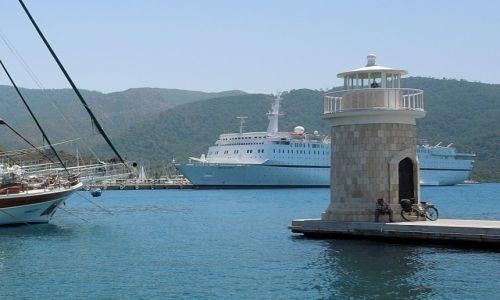 Zdjęcie TURCJA / Turcja Egejska / Marmaris / W porcie