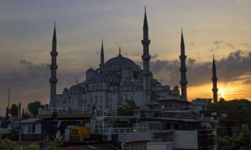 Zdjęcie TURCJA / Stambuł / Sultanahmet / Błękitny meczet