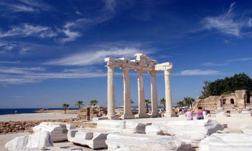 Zdjęcie TURCJA / Riwera Turecka / Side / Świątynia Apolla