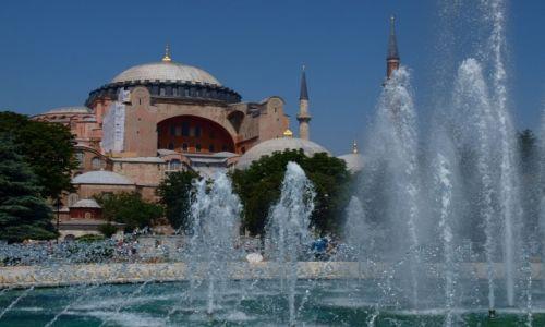 Zdjecie TURCJA / - / Stambuł / Hagia Sophia