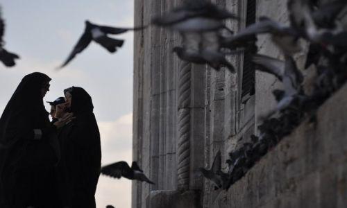 Zdjęcie TURCJA / - / Istanbul / Przed meczetem