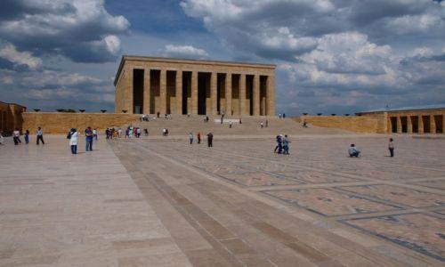 Zdjęcie TURCJA / środkowa Turcja / Ankara / Mauzoleum Ataturka