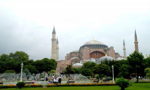 Zdjęcie TURCJA / Stambuł / miasto / Hagia Sophia