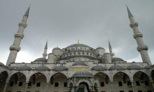 Zdjęcie TURCJA / Stambuł / miasto / Niebieski meczet