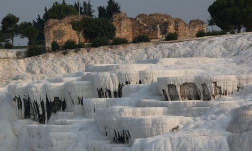 Zdjęcie TURCJA / Denizli / Pamukkale / Białe tarasy 3