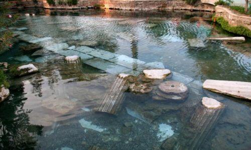 Zdjecie TURCJA / Denizli / Hierapolis / Starożytne termy