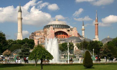 Zdjecie TURCJA / Stambuł / Hagia Sophia / Turecka Klasyka