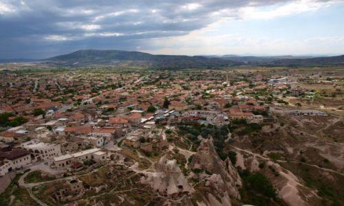 TURCJA / Kapadocja / Uchisar / Uchisar - widok ze szczytu
