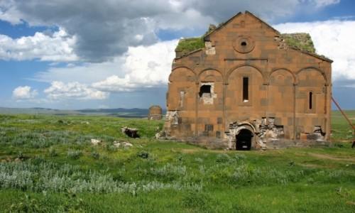 Zdjecie TURCJA / Anatolia Wschodnia / Ani / Ruiny ANI, dawn