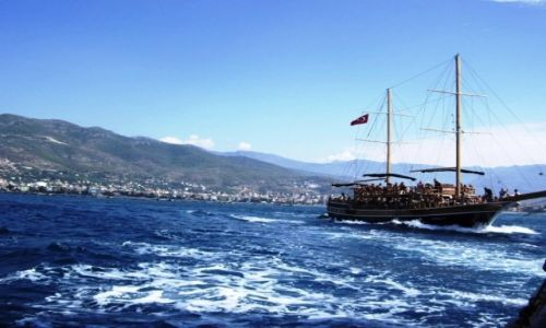 Zdjecie TURCJA / Riwiera Turecka / Alanya / Rejs po Morzu Ś