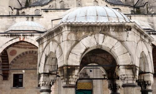 Zdjęcie TURCJA / Marmara / Istambul / Plac w Sultanahmed Mosque