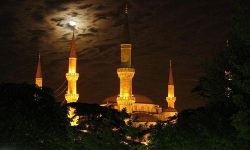 Zdjecie TURCJA / Turcja / Istambu� / B��kitny Meczet